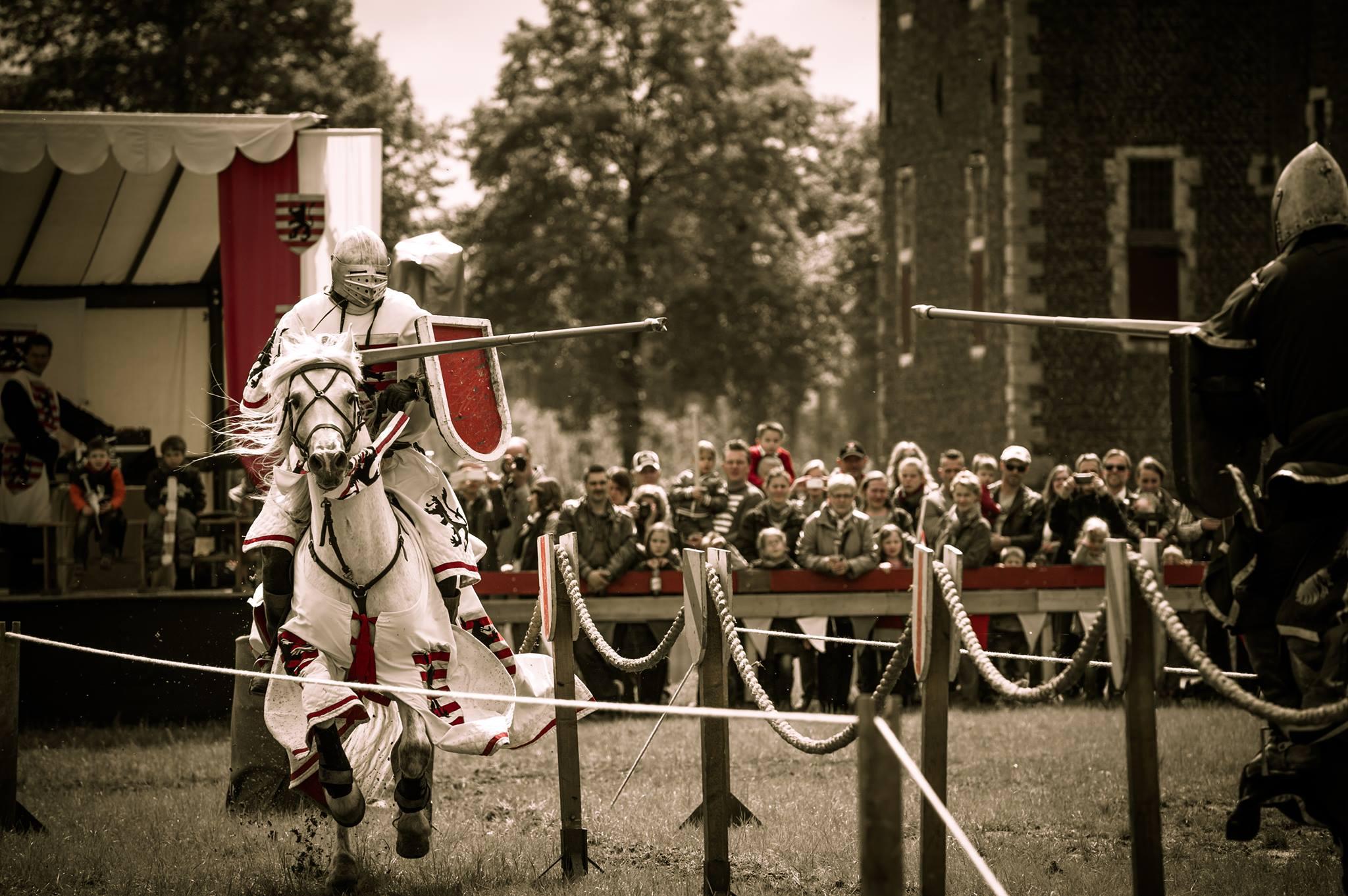 Ridders in actie tijdens het Kampioenschap op Landgoed Maarsbergen - Foto: ©Landgoed Maarsbergen