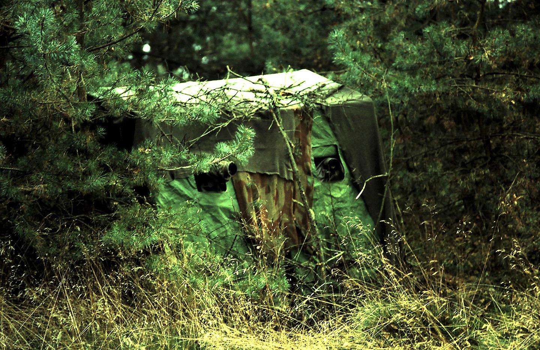 Toch maar in de tent zitten – Foto: ©Anja Arentzen