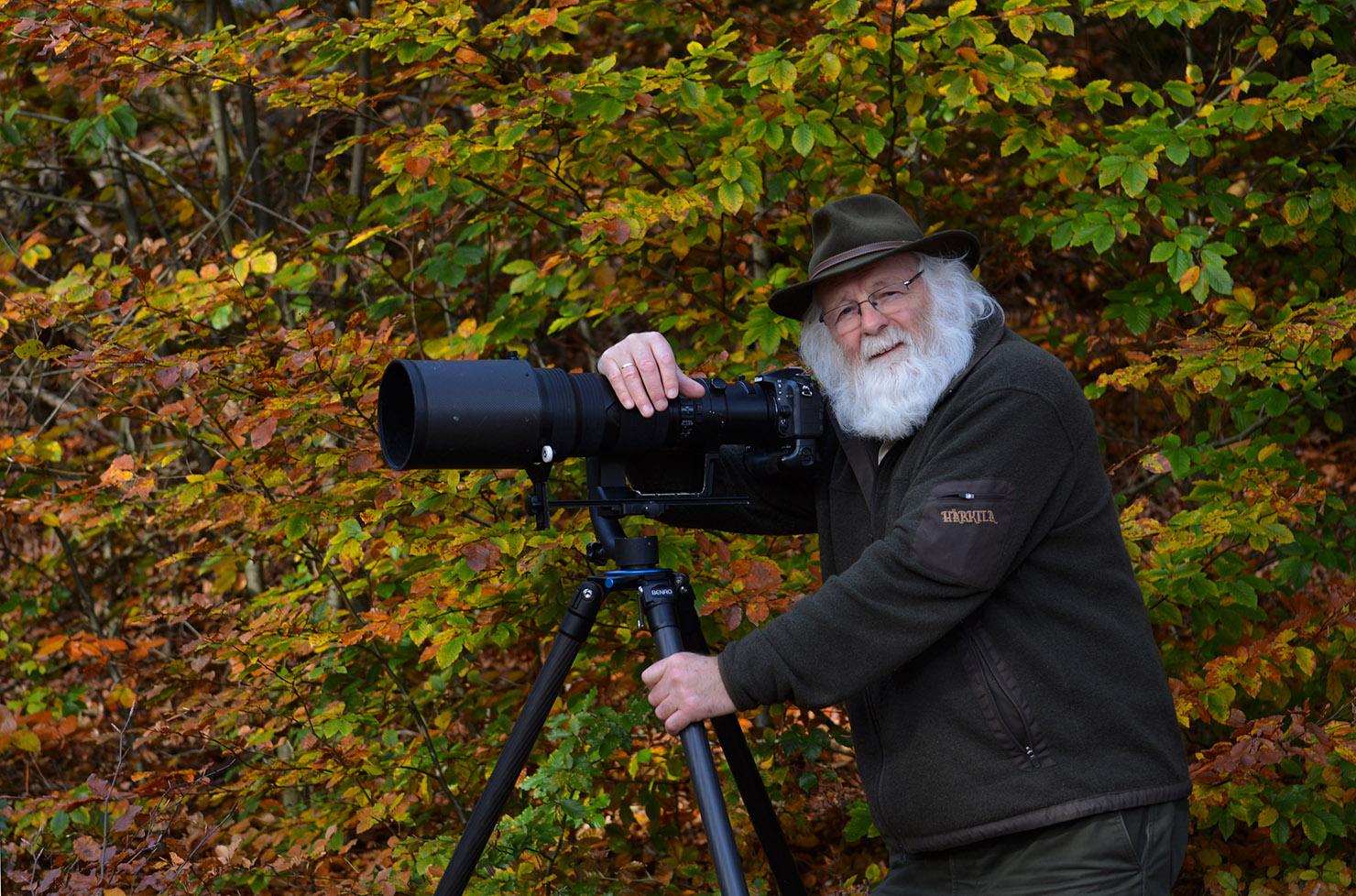 Louis Fraanje is natuurliefhebber en fotograaf - Foto: ©Fransien Fraanje