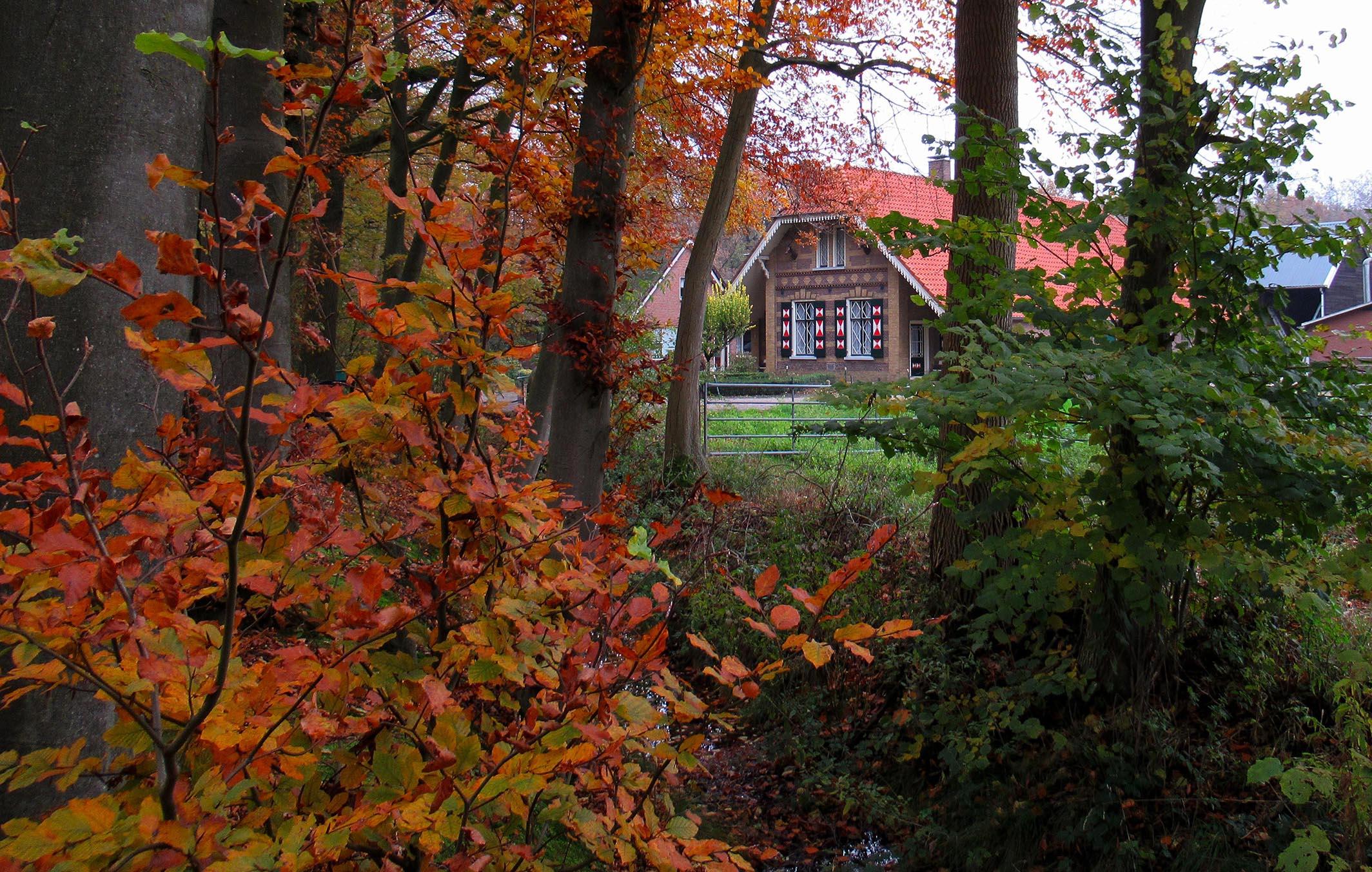 """Boerderij """"De Grote Niep"""" op het Landgoed Stoutenburg – Foto: ©Louis Fraanje"""