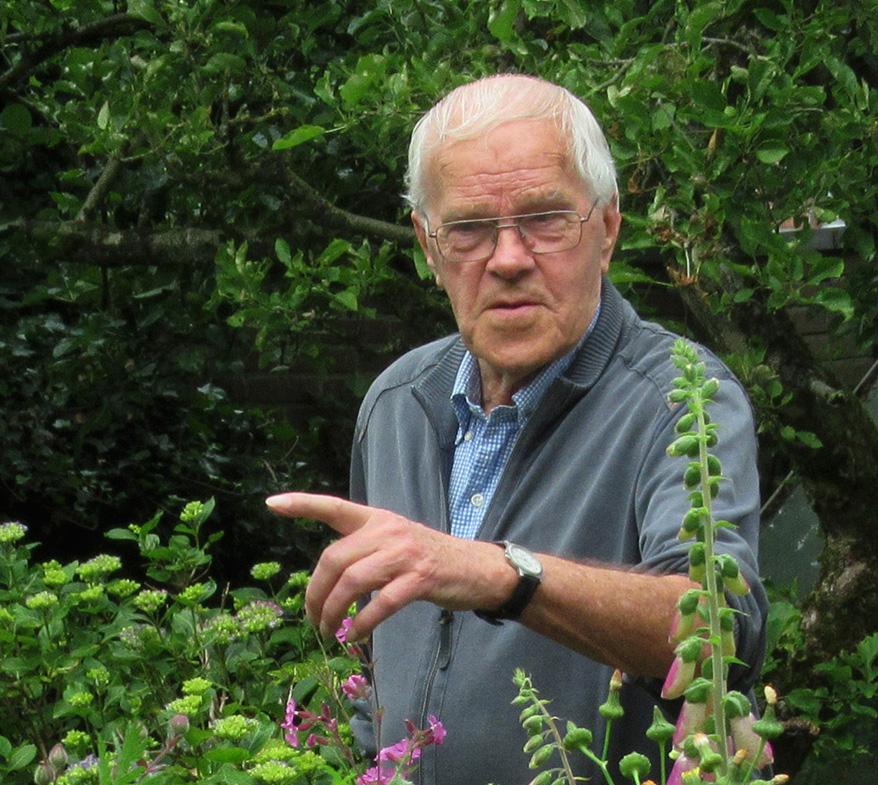 Natuurkenner Gerrit de Graaff is een boeiend verteller – Foto: ©Fransien Fraanje