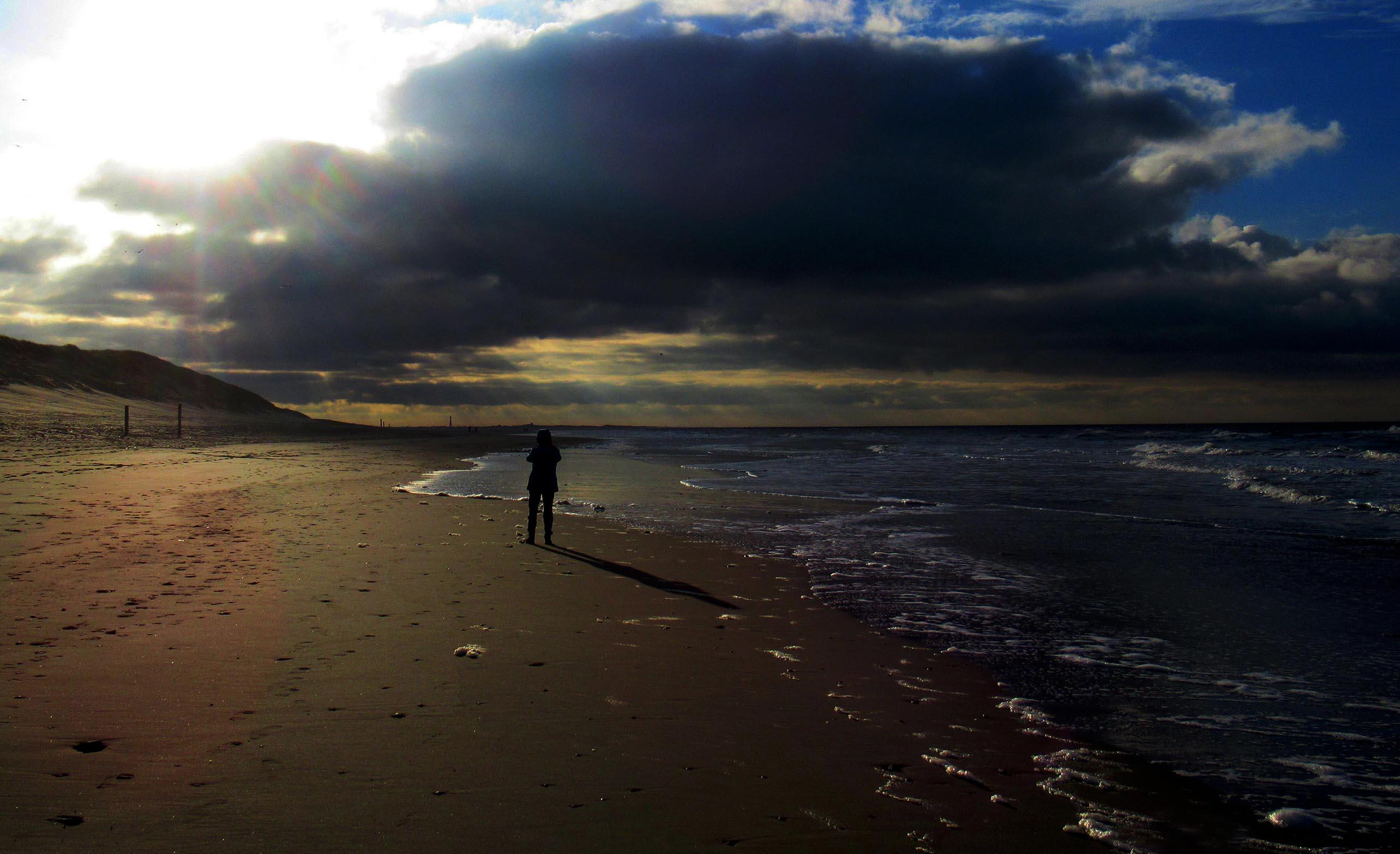 Fransien in het zonlicht... en... toen kwam een grote donkere wolk aandrijven, – Foto: ©Louis Fraanje