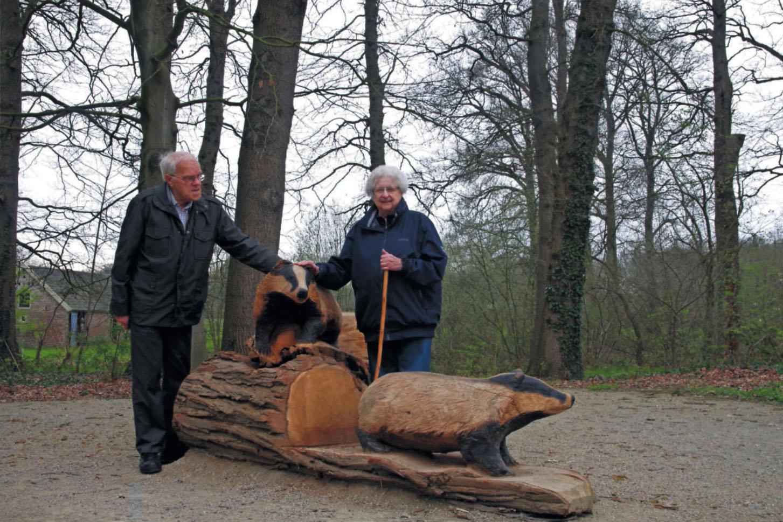 Gerrit en Tiny de Graaff op het Landgoed Hackfort - Foto: ©Henny de Wit