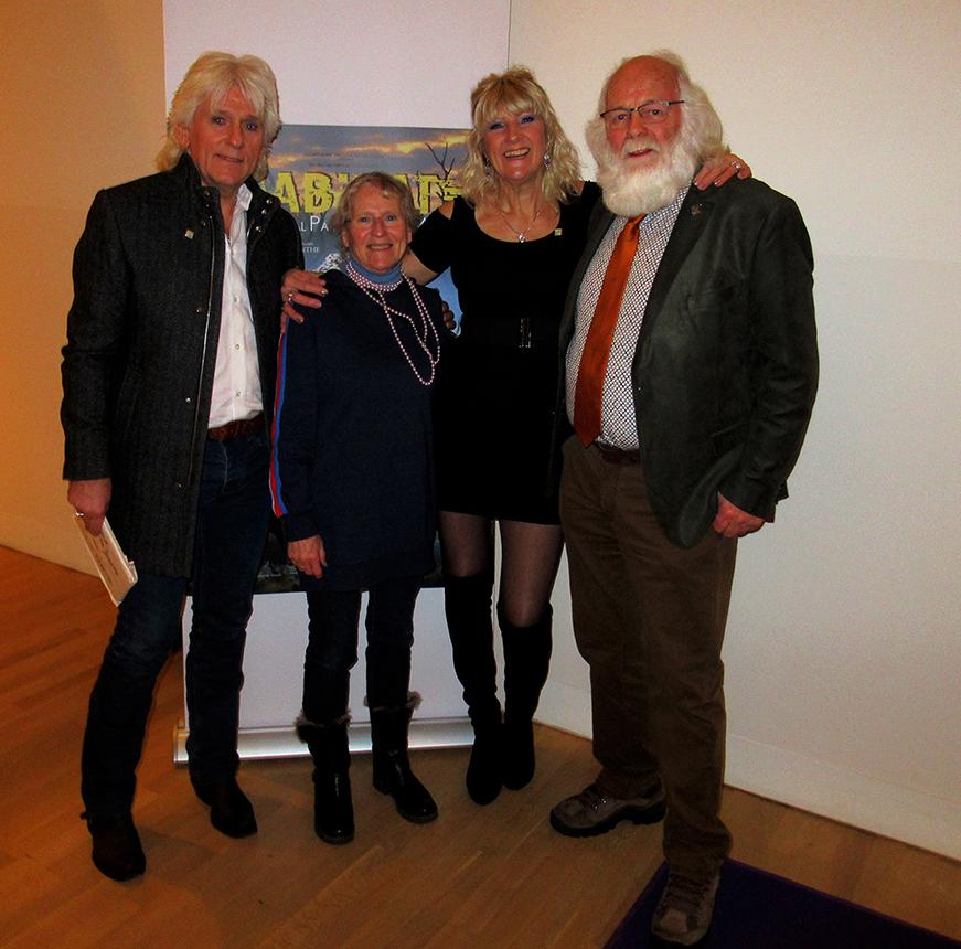 Natuurvrienden Henk Bos, Fransien Fraanje, Janetta Bos- Veenhoven en Louis Fraanje - Foto: ©Wesley Bos