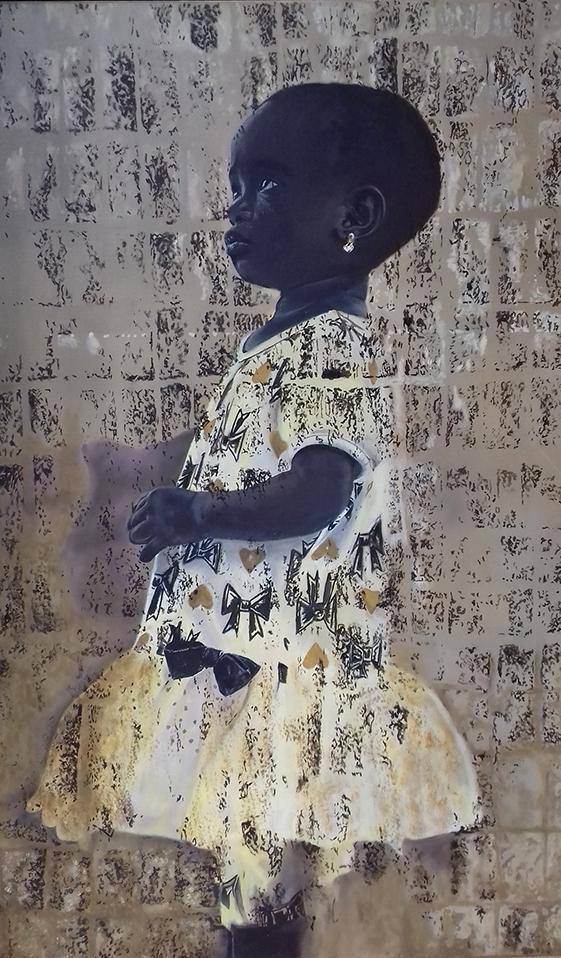 Afrikaans meisje - Beeld: Willem Souverijn