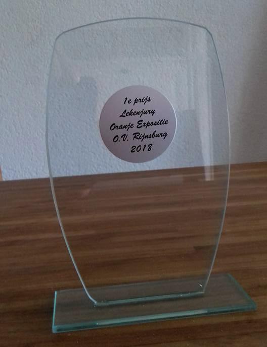 De 1e prijs in Rijnsburg