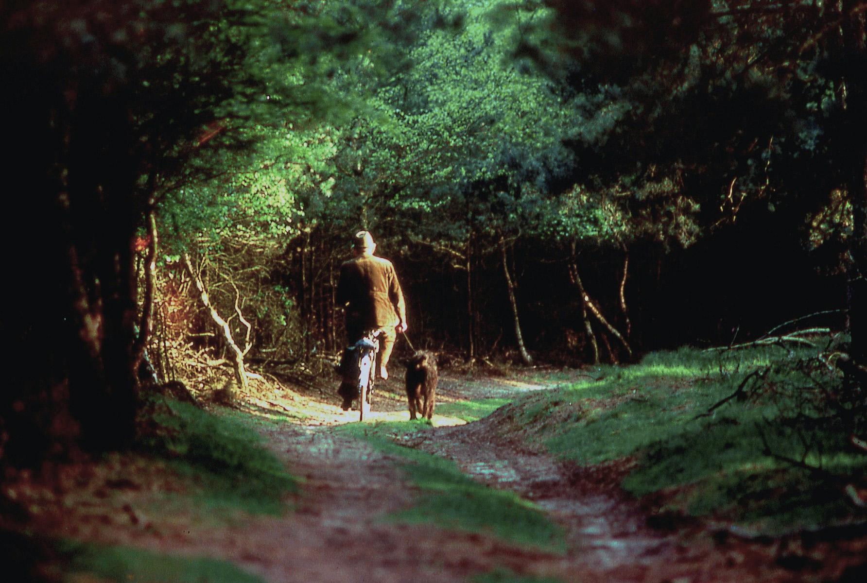 De boswachter vroeger - Foto: ©Martien Haffmans(†)