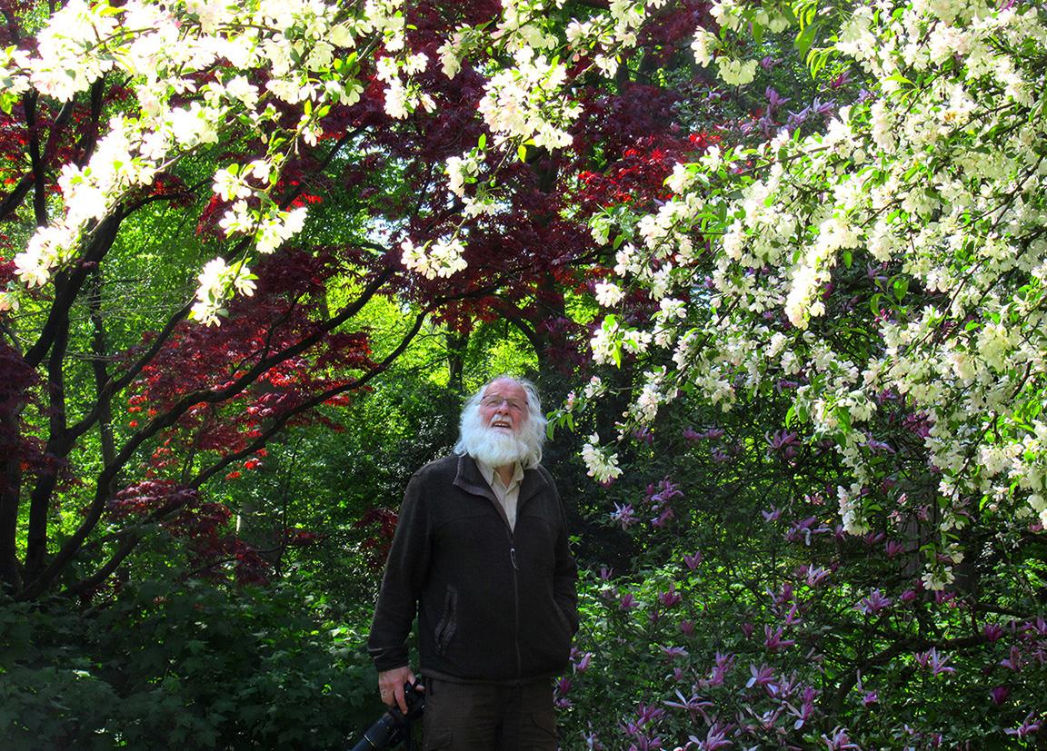 Genieten van de kleuren en gezonde geuren in Arboretum Belmonte te Wageningen - Foto: ©Fransien Fraanje