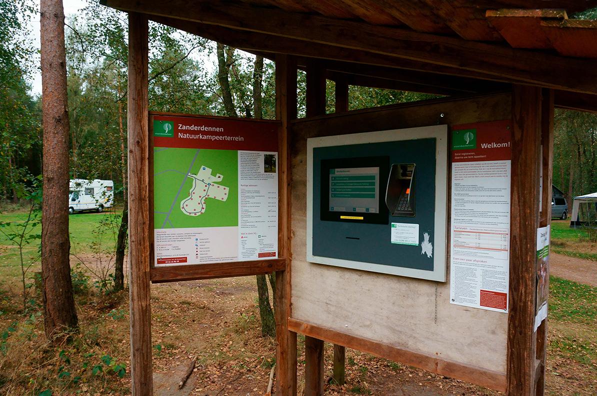 Een van de vele campings op de Veluwe - Foto: Anja Arentzen
