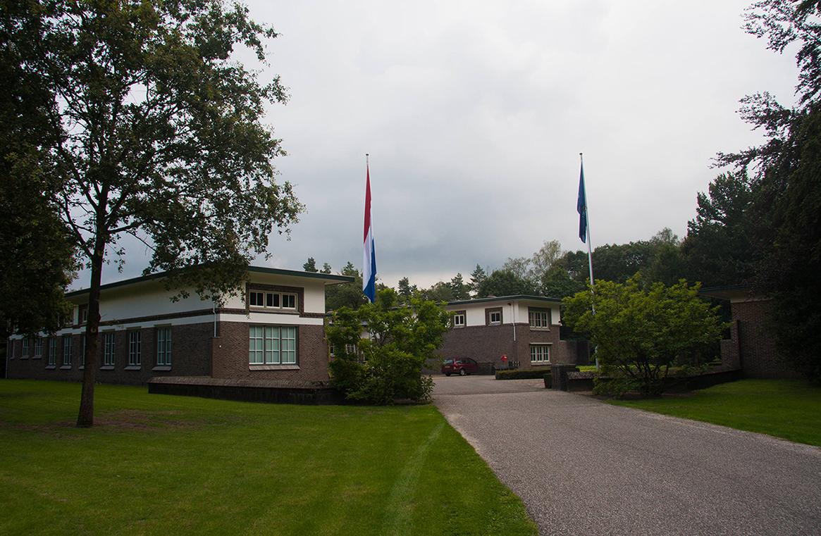 De 'hoofdkeuken', het Dienstgebouw van De Hoge Veluwe - Foto: Yvonne Arentzen