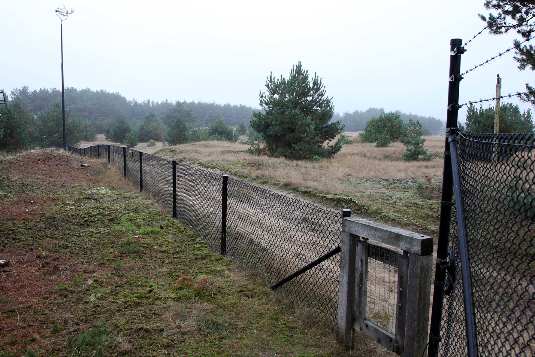 De schutting van de buren: insprong Deelenseweg - Foto: Anja Arentzen