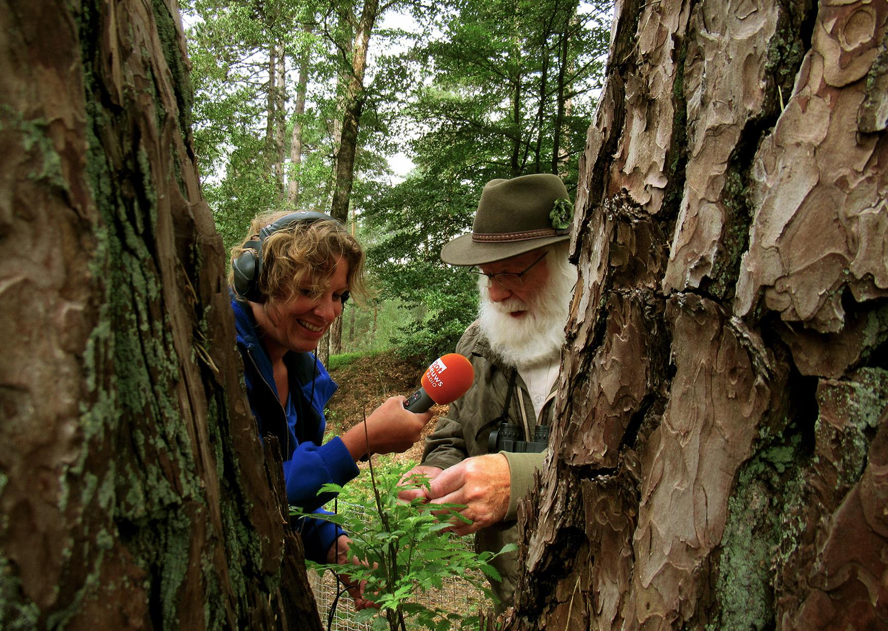 Louis vertelt over de natuur van klein tot groot - Foto: ©Fransien Fraanje