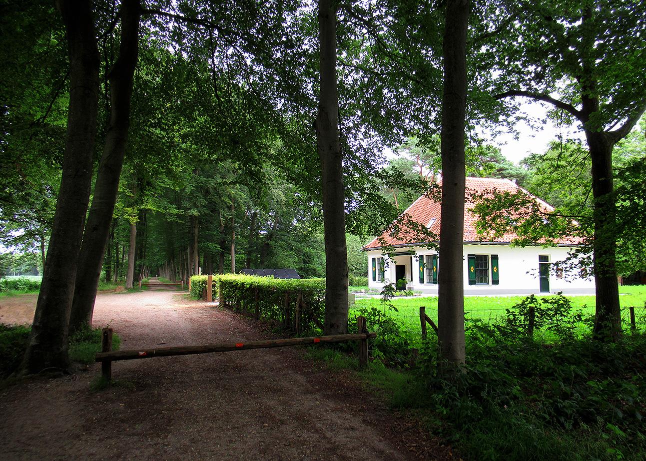 De oude boswachterswoning is op een schitterende manier gerestaureerd - Foto: ©Louis Fraanje