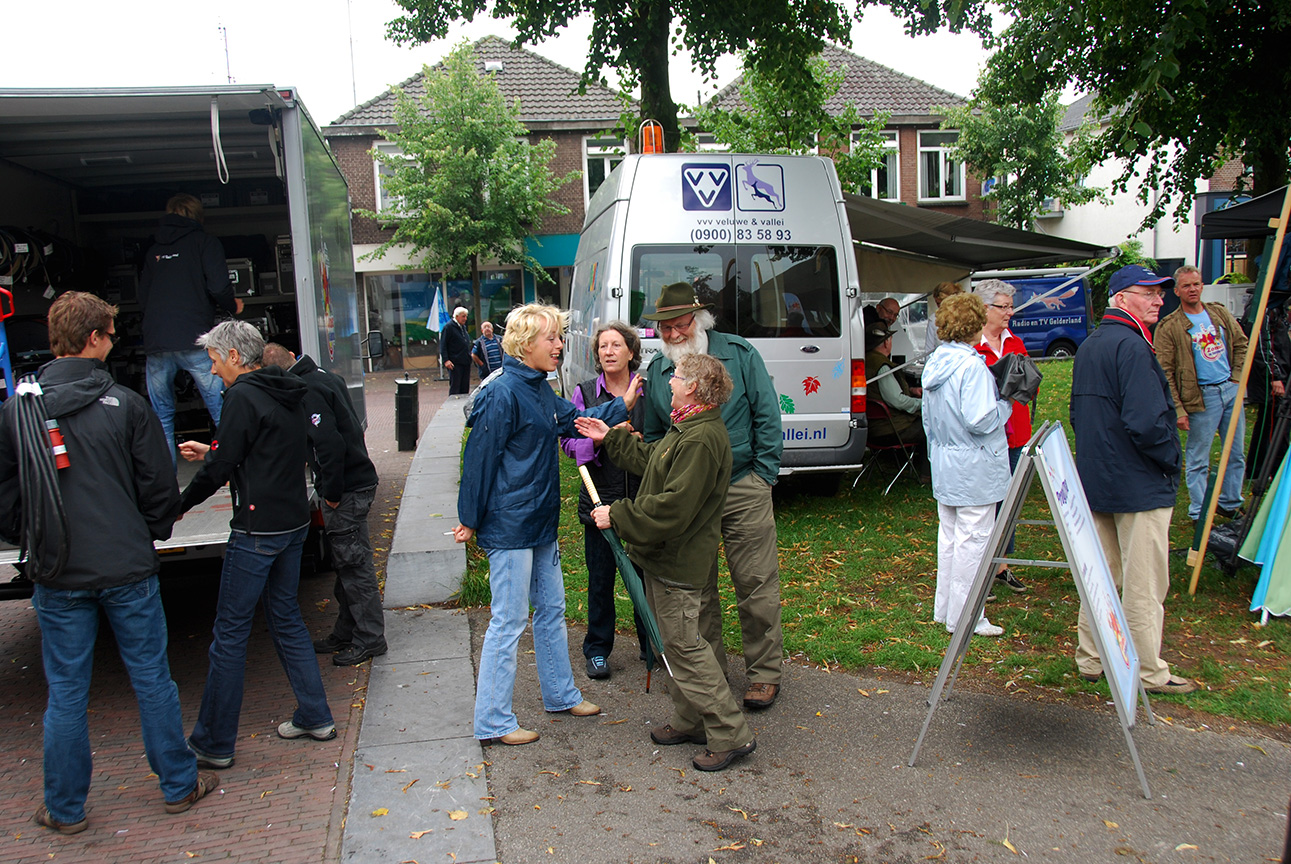 De voorbereidingen op het Nieuwe Erf in Lunteren - Foto: Luc Vos JGS