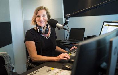 Annemarie Biljard in haar element – Foto: ©Groot Nieuws Radio