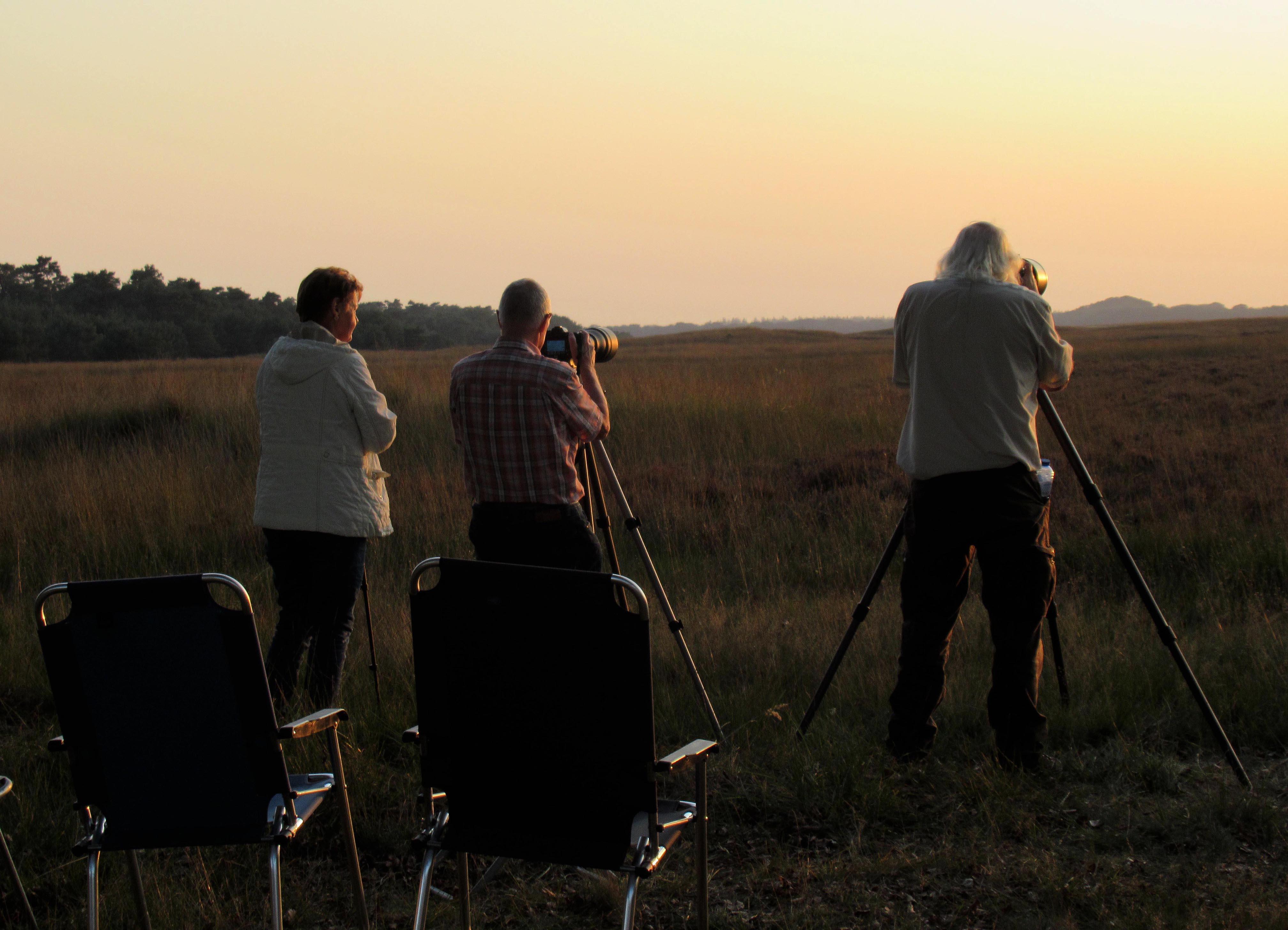 Onze natuurvrienden Jannie en Florus van den Berg waren ook van de partij – Foto: ©Fransien Fraanje