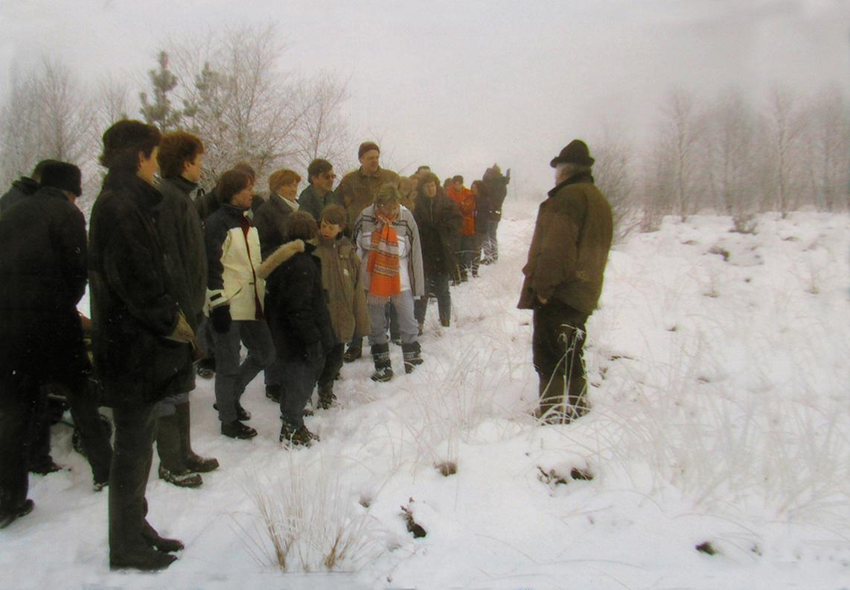 Een natuurwandeling in de winter bij Hoenderloo - Foto: ©Archief Louis Fraanje