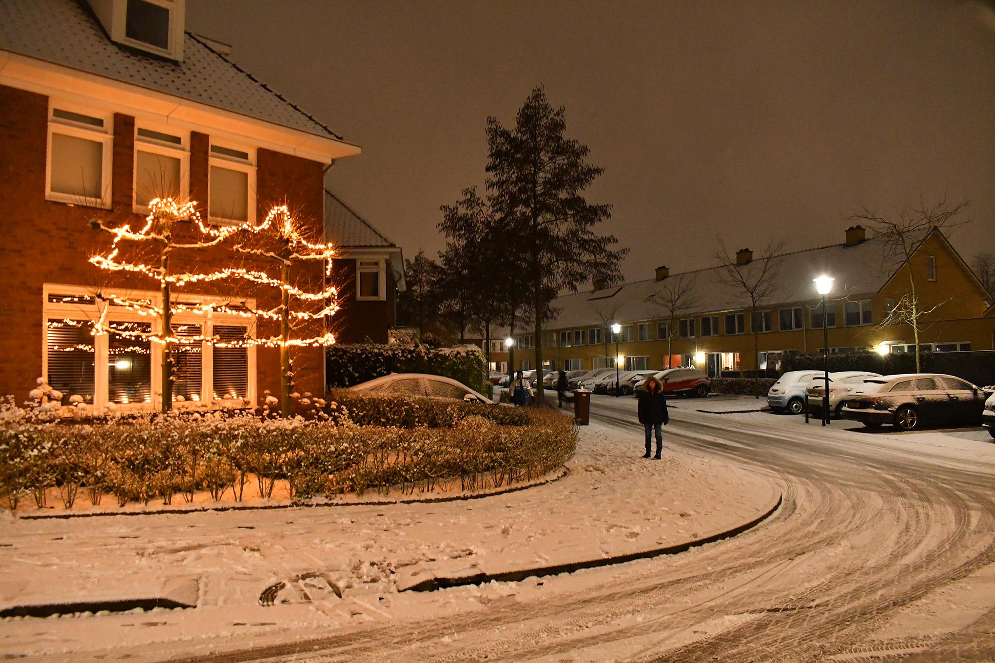 Kijk de Kerst blijft toch ook hier nog even hangen.. Foto: ©Louis Fraanje