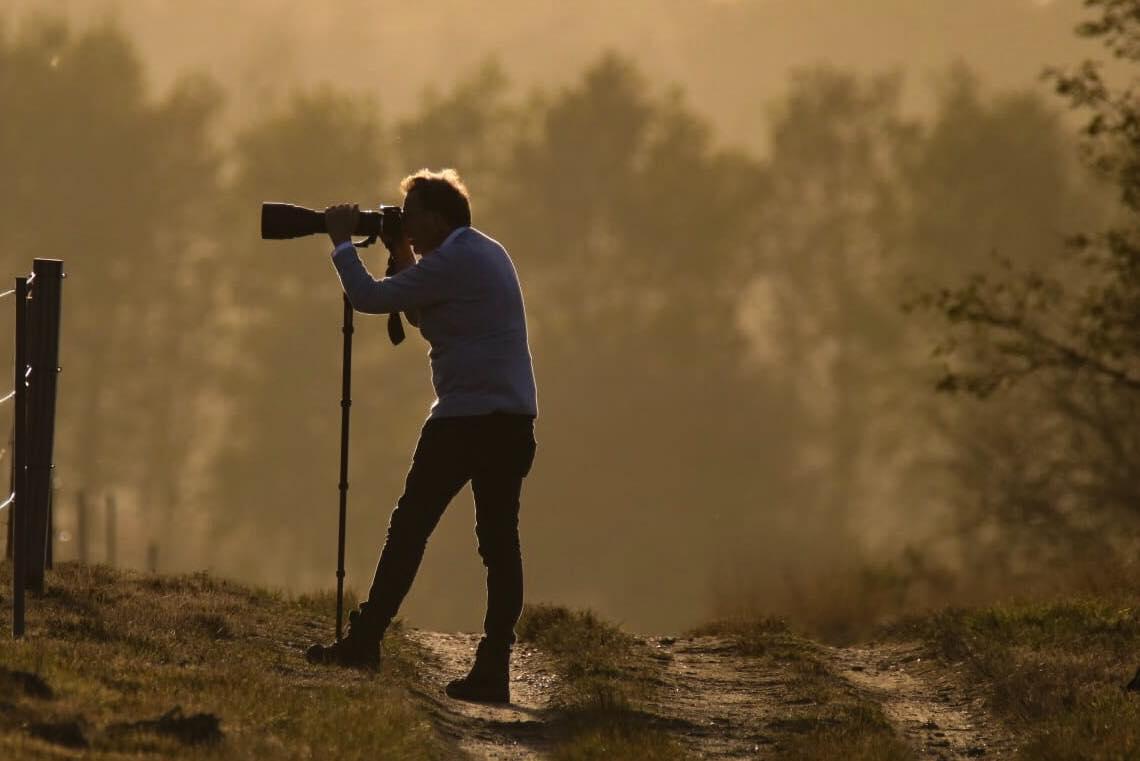 Natuurliefhebber- en fotograaf Aalt Westerboek