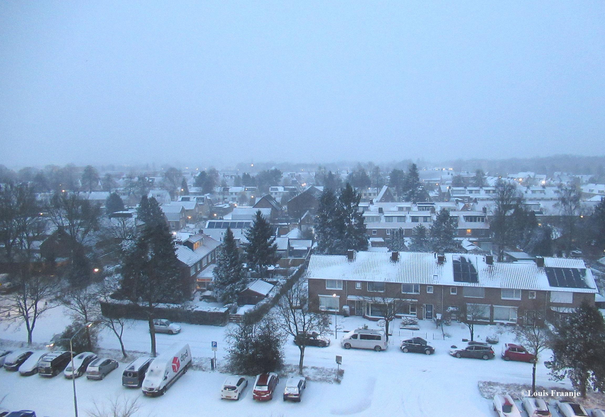 Koning winter heeft alles toegedekt met een witte deken - Foto: ©Louis Fraanje
