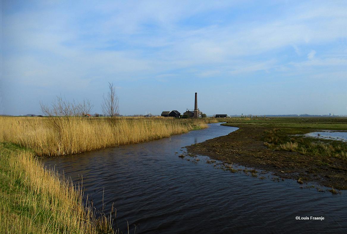 Het bekende Stoomgemaal Hertog Reijnhout in de polder Arkemheen - Foto: ©Louis Fraanje