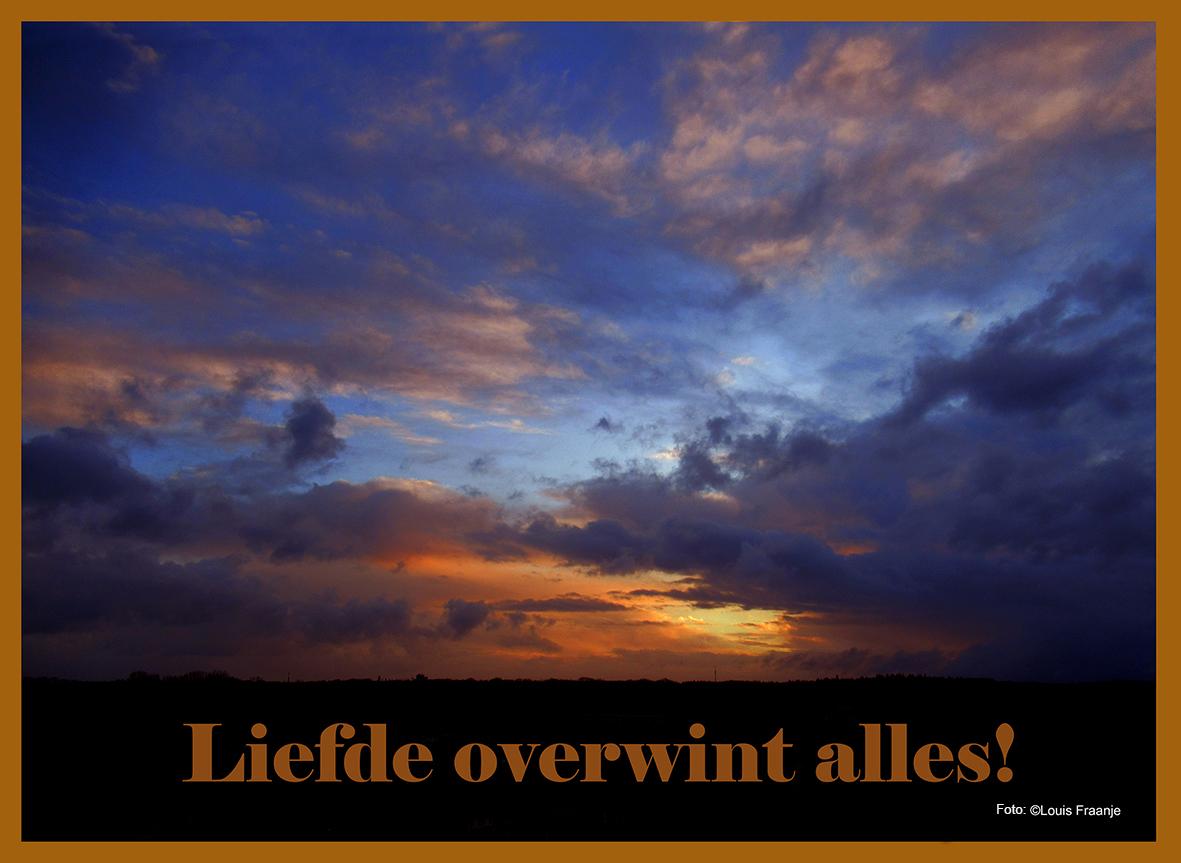 Ochtendgloren op een morgen in maart - Foto: ©Louis Fraanje