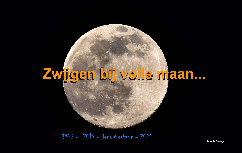 Zwijgen bij volle maan... en toch elkaar verstaan - Foto: ©Louis Fraanje -