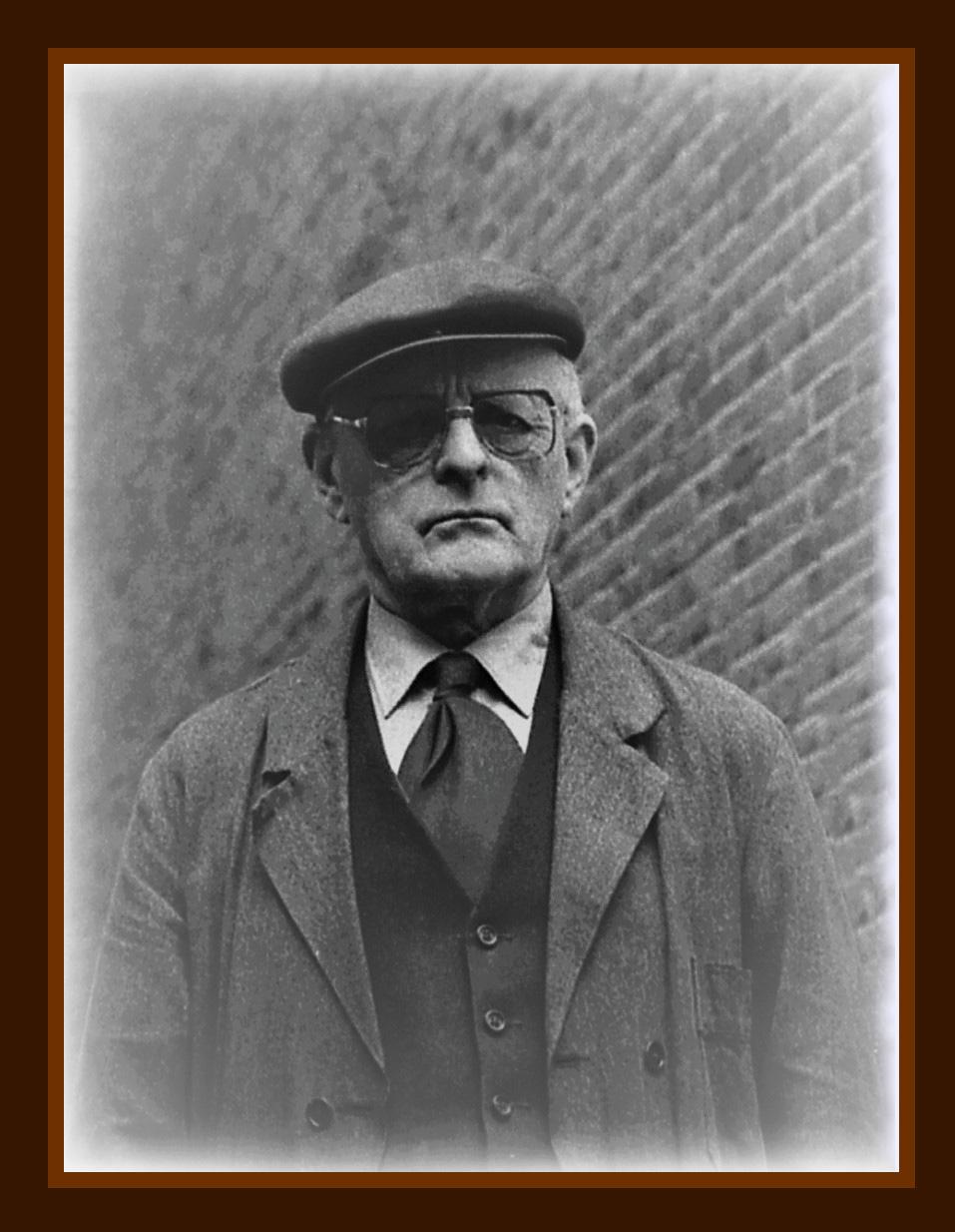 Mijn vader Cornelis (Kees) Fraanje (1913-1990) - Foto: ©Louis Fraanje