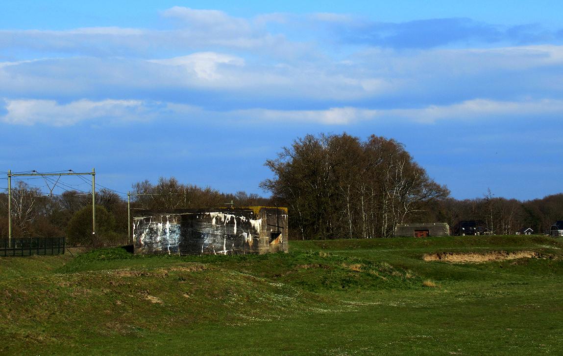 Bunkers bij de Schalm in de buurt van de Emminkhuizerberg als stille getuigen aan de Tweede Wereldoorlog - Foto: ©Fransien Fraanje