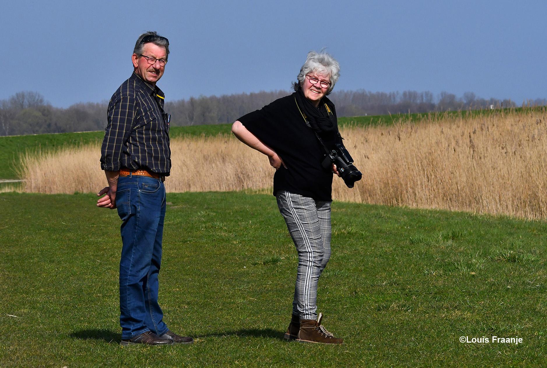 Bij hun vertrek hebben we Bart en Marie Bello ook nog even op de gevoelige plaat vastgelegd! - Foto: ©Louis Fraanje