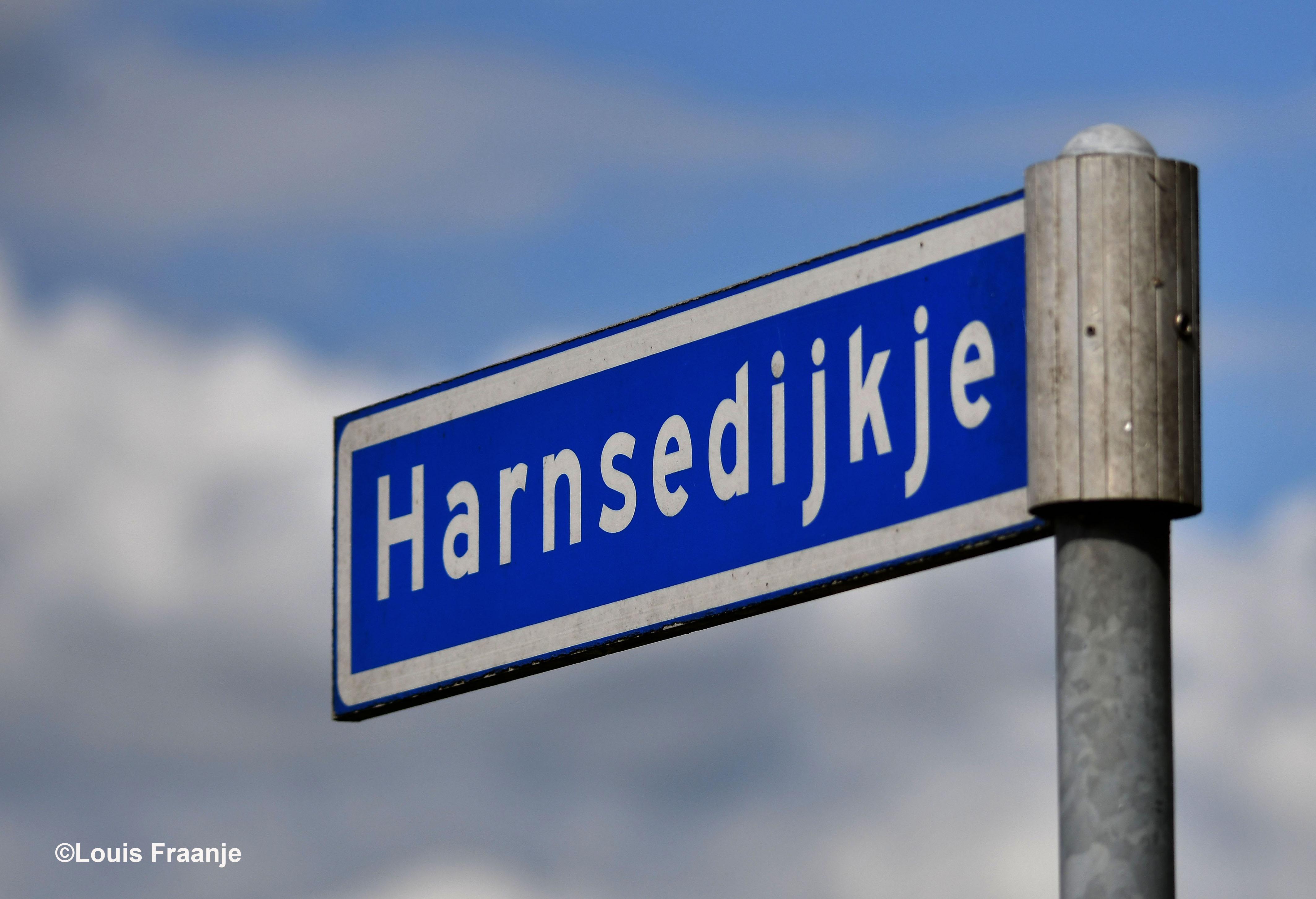Wat een mooie naam, het Harnsedijkje, is een zijweg van de Langesteeg - Foto: ©Louis Fraanje