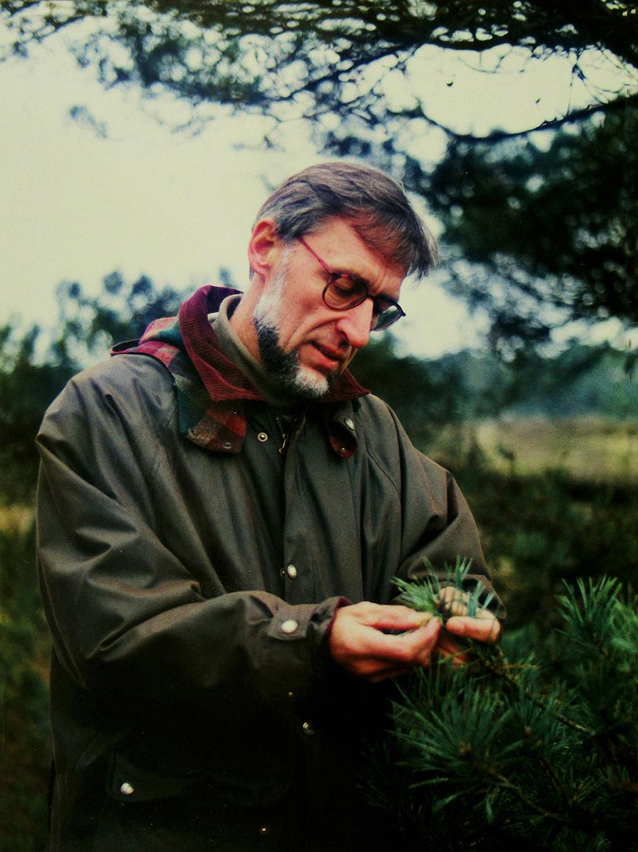 Leffert Oldenkamp in 1995 - Foto: ©Louis Fraanje
