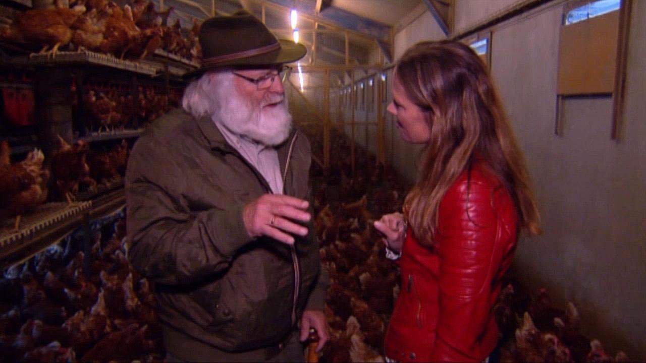 Louis Fraanje in gesprek met TV-presentatrice Mirjam Bouwman - Foto: ©Jac. Gazenbeekstichting