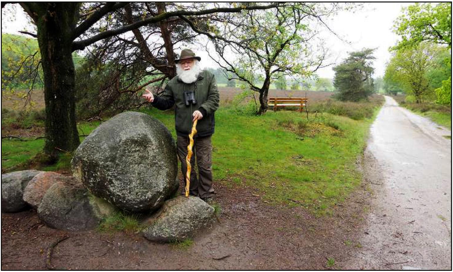 Als deze steen eens kon vertellen...! - Foto: ©Henk de Rooy