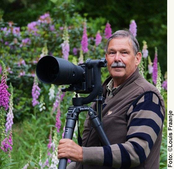 Ton Heekelaar met camera