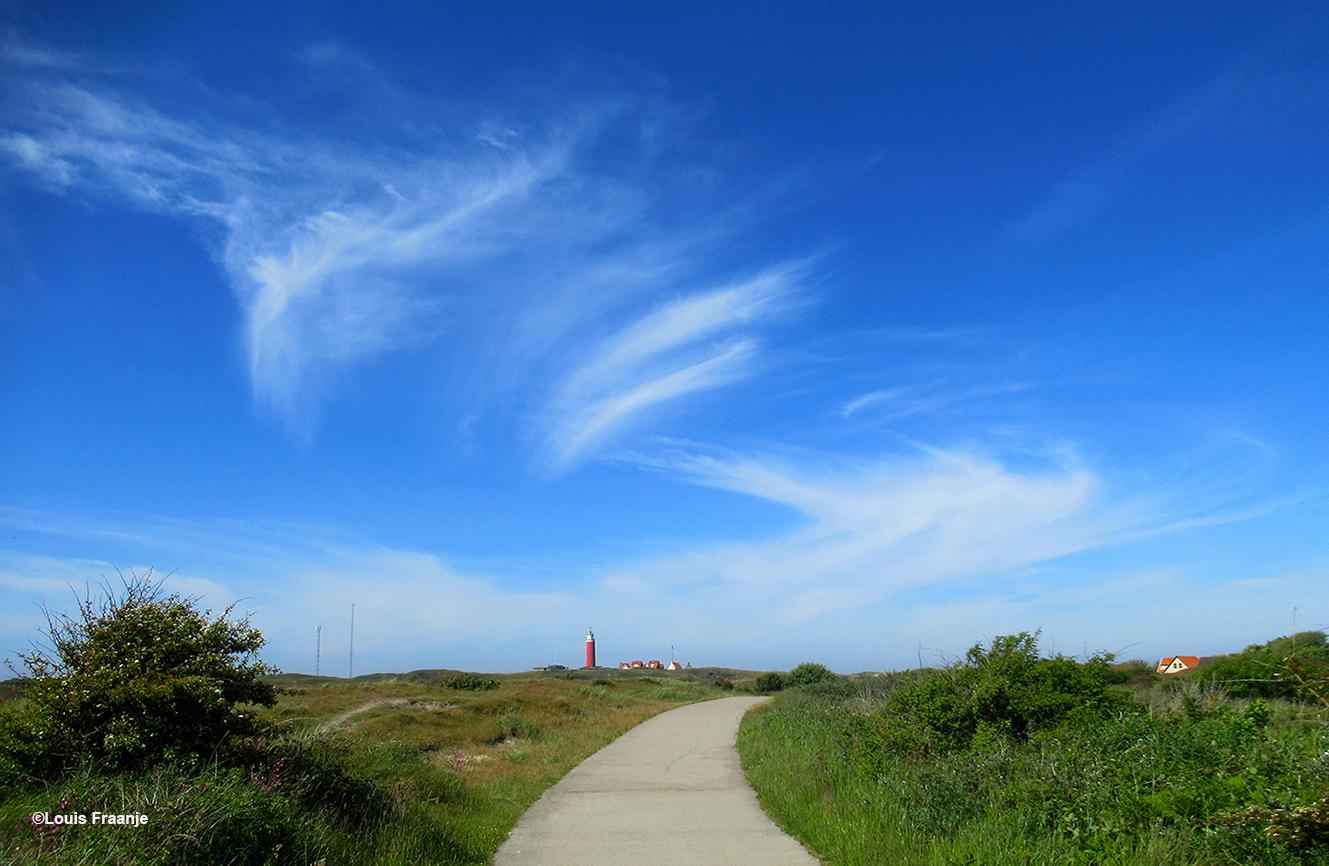 De bekende vuurtoren op de kop van het eiland en prachtige windveren - Foto: ©Louis Fraanje