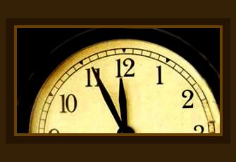 De klok tikt door...