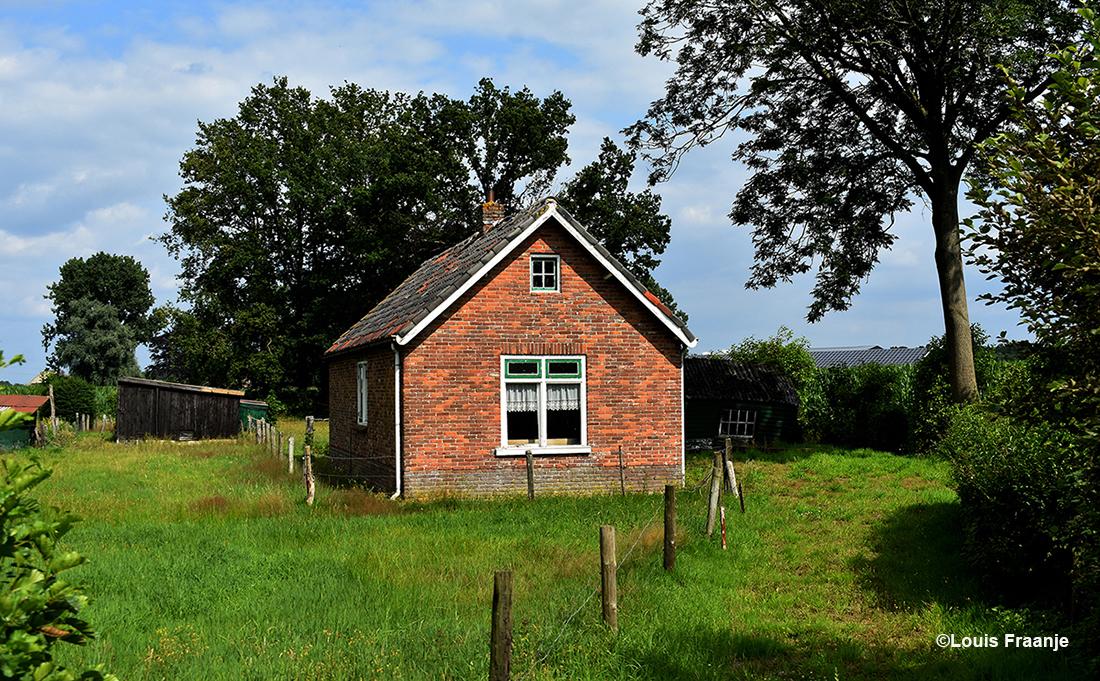 Een klein buitenhuisje in de buurt van Barneveld...